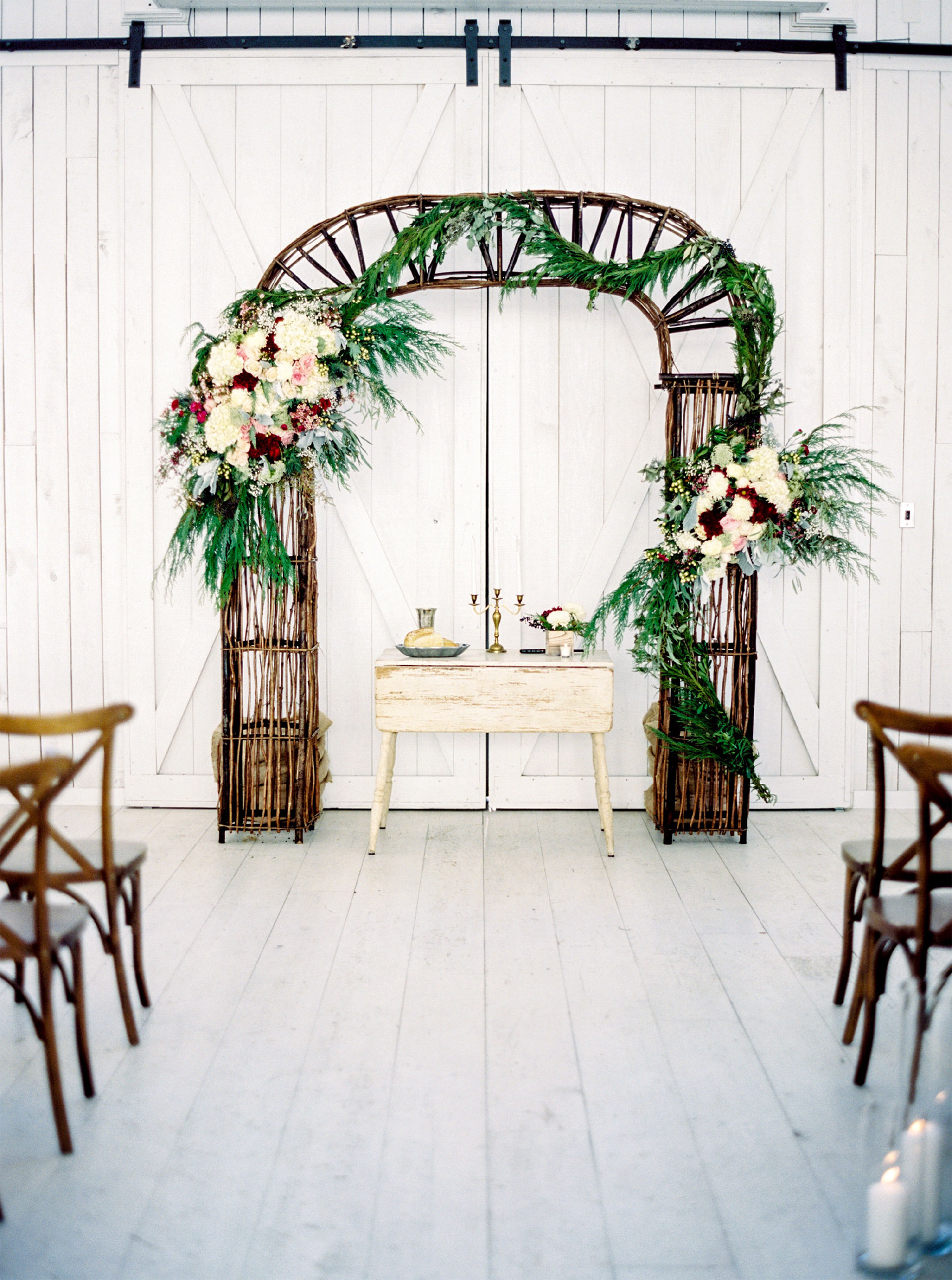 Beautiful Floral Arrangement - Oak + Ivy